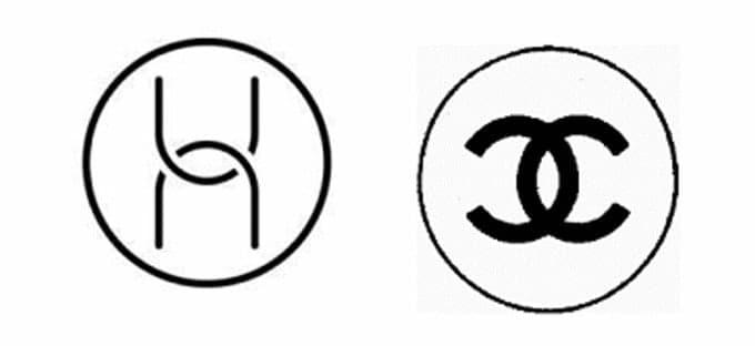 Huawei logo vs Chanel logo