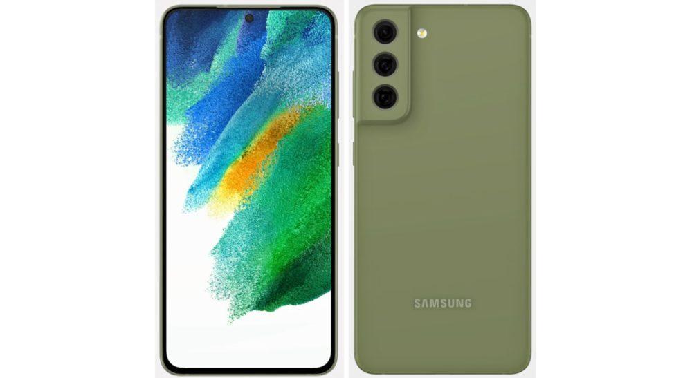 Samsung Galaxy S21 FE - zöld