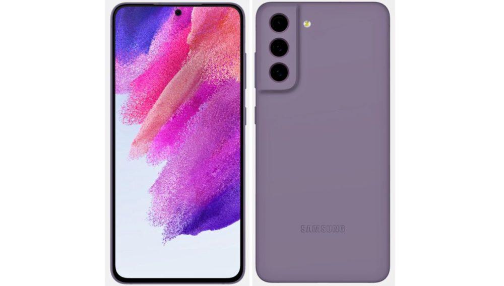 Samsung Galaxy S21 FE - lila