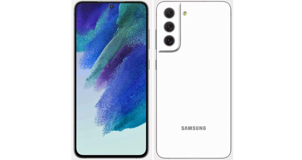 Samsung Galaxy S21 FE - fehér