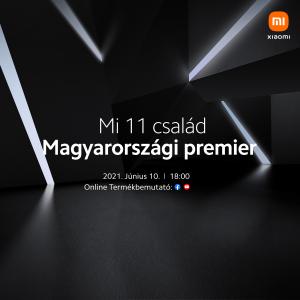 Xiaomi Mi 11 bemutató