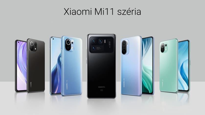 Xiaomi Mi 11 széria