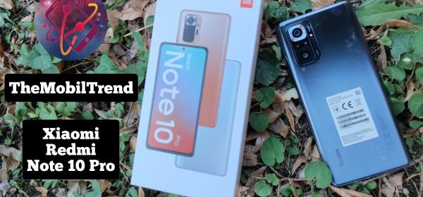Xiaomi Redmi Note 10 Pro teszt