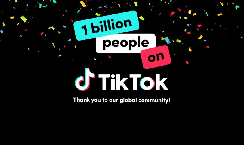 TikTok egy milliárd